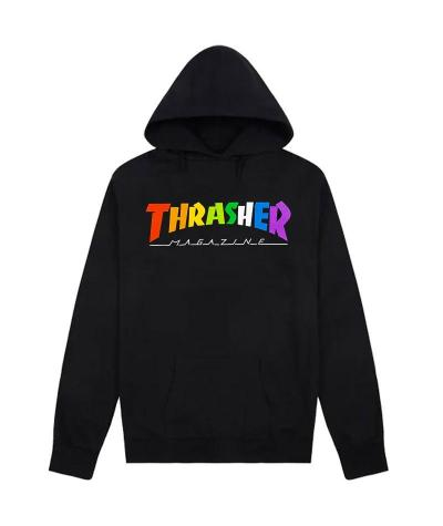 THRASHER RAINBOW MAG HOOD -...